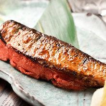 Sardines and marinated cod roe