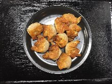 Pan-fried wontons