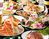 Hanazakari All You Can Eat & Drink Course + Assorted Dishes + Assorted Sashimi delivered directly from production centers or Deluxe Sashimi Boat of your choice