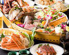 Hanazakari All You Can Eat & Drink Course + Fresh Crab boiled on the beach + Luxurious Sashimi Assortment, spiny lobster included (Sashimi Boat)