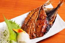 Dried fish seasoned with mirin
