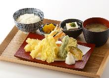 Tempura set meal