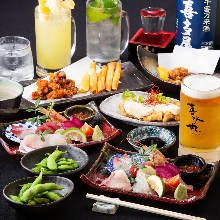 3,500 JPY Course (4 Items)