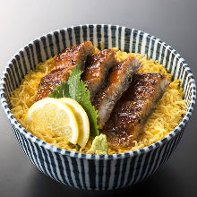 Sweet broiled eel rice bowl