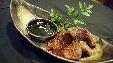 Deep-fried beef tongue
