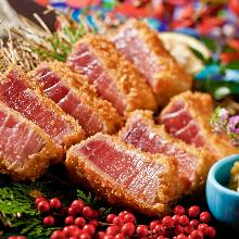 Tuna cutlet