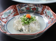 Nikogori (gelatin and boiled fish soup)