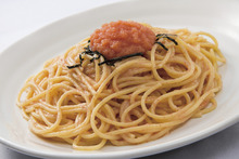 Spaghetti with mentaiko