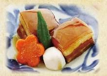 Okinawan stewed pork belly