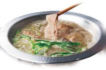 Pork shabu-shabu