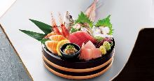 Assorted sashimi, 7 kinds
