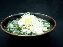 Wakame seaweed soup