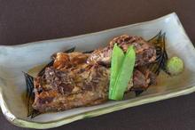 Okinawan-style stewed pork spare rib rice bowl