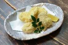 Jidori chicken tempura