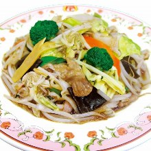 Stir-fried vegetables