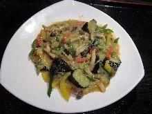 Miso stir-fry
