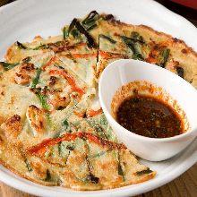 Seafood pajeon