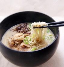 Ramen in pork bone soup