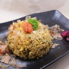 Fried rice with leaf mustard