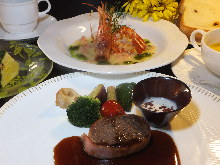 The main dish of the second course