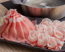 Berkshire pork shabu-shabu