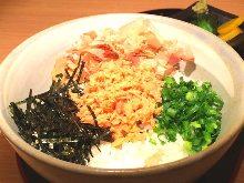 Seafood chazuke