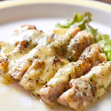 Grilled chicken and herb