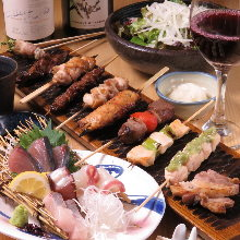 2,800 JPY Course (14 Items)