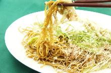 Champon yakisoba noodles