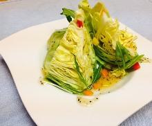 Cabbage and shiodare sauce