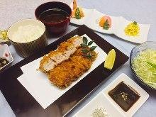 Fillet cutlet set meal