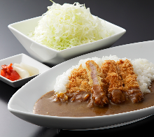 Fillet cutlet curry