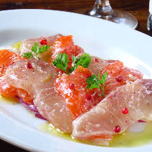 Assorted carpaccio