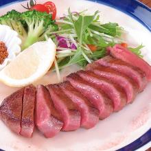 Beef tongue steak