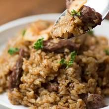 Wagyu beef garlic rice