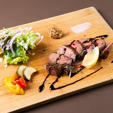 Beef tongue steak