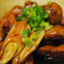 Simmered organ meats