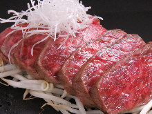 Wagyu beef sirloin yoganyaki