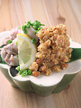 Stir-fried pork and miso paste