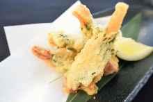 Meat tempura