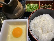 End-of-the-meal zosui (rice soup)