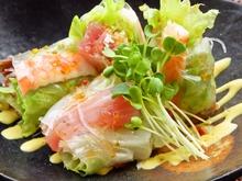 Goi cuon (fresh spring rolls)