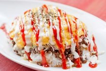 Other rice omelets / rice with hashed meat