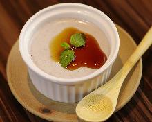 Sesame pudding