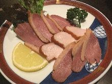 Smoked Aigamo duck