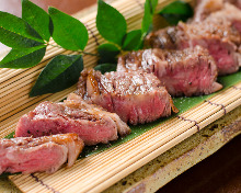 Charcoal grilled meat