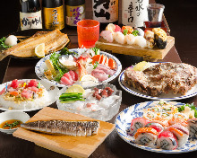 3,000 JPY Course (6 Items)