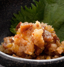 Stir-fried pork with sweet miso