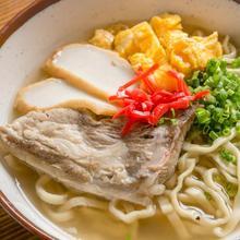 Okinawan noodles with sparerib