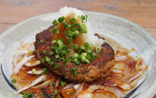 Japanese-style hamburg steak
